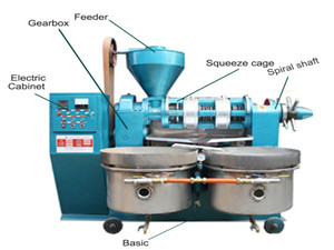 coconut oil milling machine and small coconut oil mill
