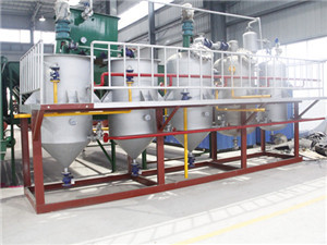 oil processing process, edible oil mill machinery manufacture