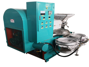 small single screw oil press machine at factory price for