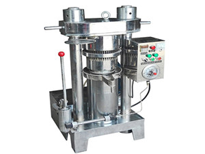 high quality automoatic hydraulic oil press machine