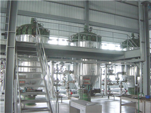 winterization - oil mill machinery