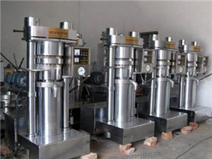 low temperature cold press oil extraction machine | oil