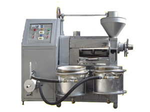 yzyx140dj low noise screw oil press machine