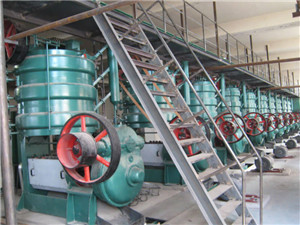 turn-key oil milling/pressing plant, oil extraction