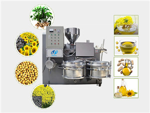 large capacity commercial oil press machine