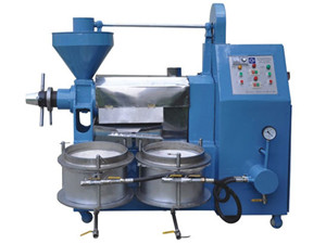 5-5.5kg/h capacity stainless steel oil press machine | oil
