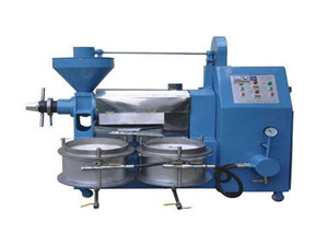 6yl-100a screw oil press machine canola oil extraction