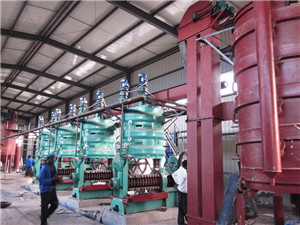 hydraulic palm oil press machine big oil press machine