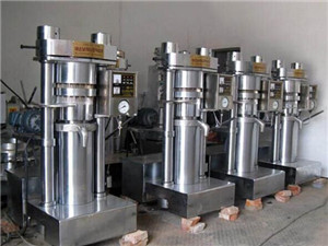 edible oil cold press process - oil mill machinery
