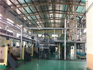 cooking oil refining equipment