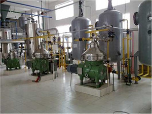china factory directly high automation palm oil refinery