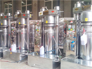 factory price castor seed oil pressing machine from