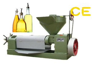 rice bran oil press machine flax seed cold oil press