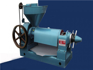 cold press expeller for oilseed – oil millingmachinery