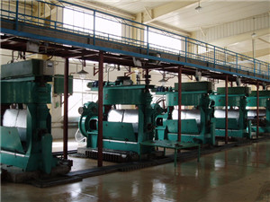 types of big capacity oil expeller press